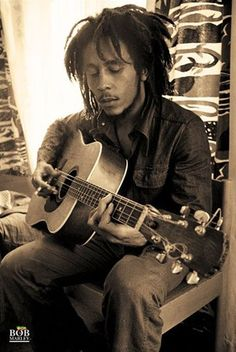 Bob Marley- Reggae icon who symbolized freedom to a lot of people.