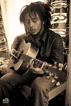 Bob Marley- Reggae icon who symbolized freedom to a lot of people.