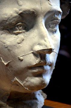 Camille Claudel by Rodin - Elena Arena Human Sculpture, Sculpture Head, Sculptures Céramiques, Pottery Sculpture, Abstract Sculpture, Bronze Sculpture, Wood Sculpture, Auguste Rodin, Camille Claudel