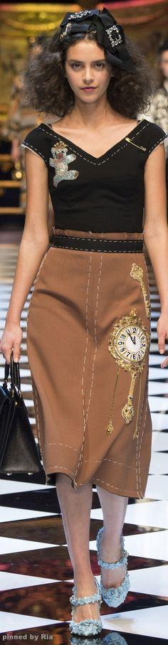 Dolce & Gabbana Fall 2016 RTW l Ria