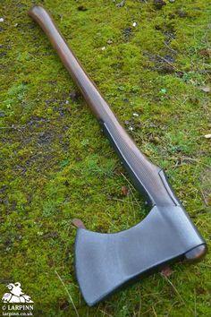 Wood Axe - Larp Weapon - 34in, Larp Inn- LARP Axes - Epic Armoury