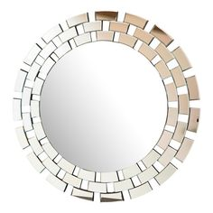 Add stylish depth to any space with this glittering mirror.Product: Wall mirrorConstruction Material: Mirrored gl...