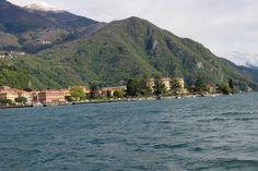 Itália, Menaggio e um passeio de barco no Lago di Como, em abril de 2016.