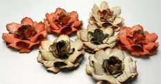 Hello again! Today I would like to share a new flower tutorial I created. These flowers were inspired by a gardenia. I adore gardenias an...