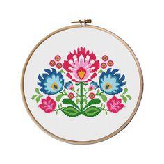 flowers cross stitch pattern Cross Stitch by MyFunnyStitches1