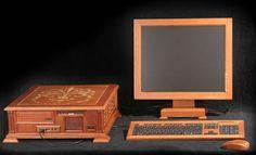 Russian Wooden PC Case Mod