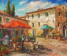 Sorano, Italy by Manfred Rapp.