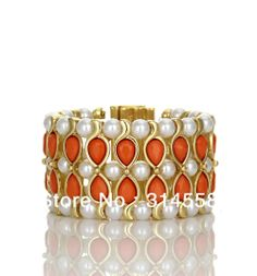 2013 High Fashion Anna Dello Russo Stretched Bracelet. Free Shipping Luxury Jewelry $10.15