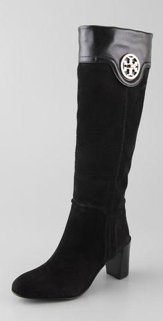 Tory Burch Selma Mid Heel Boots