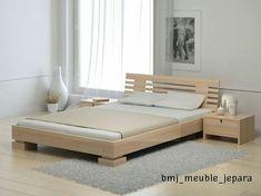 Bedding Master Bedroom Modern - Single Bedding With Pull Out - - - - Wood Bed Design, Bed Frame Design, Bedroom Bed Design, Bedroom Furniture Design, Bed Furniture, Pallet Furniture, Modern Bedroom, Bedding Master Bedroom, Modern Wood Bed
