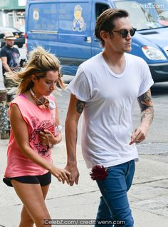 Ashley Tisdale And her fiance Christopher French hold hands as they go shopping at Intermix in the East Village http://icelebz.com/events/ashley_tisdale_and_her_fiance_christopher_french_hold_hands_as_they_go_shopping_at_intermix_in_the_east_village/photo1.html