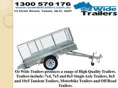 Car Trailer For Sale by ozwidetrailers.deviantart.com on @DeviantArt