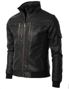 Designer Leather jackets with customisation
