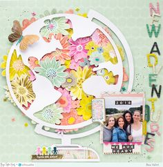 The first thing you need to know about making a scrapbook is that it isn't a complicated process at all. Scrapbooking isn't just for the 'crafty' person among Scrapbook Journal, Scrapbook Sketches, Scrapbook Page Layouts, Scrapbook Supplies, Scrapbook Pages, Scrapbook Organization, Scrapbook Designs, Photo Layouts, Origami