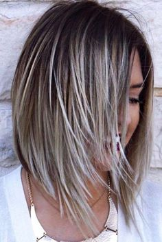 30 Edgy Bob Haircuts To Inspire Your Next Cut – - Schulterlange Haare Ideen Edgy Bob Haircuts, Cute Hairstyles For Medium Hair, Edgy Hairstyles, Haircuts For Thin Hair, Hairstyles 2016, Hair Medium, Hair Color And Cut, Great Hair, Hair Lengths