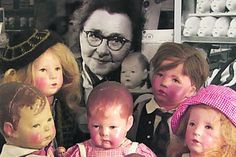 Käthe Kruse and her dolls