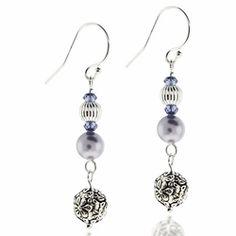 Swarovski Lavender Pearls Floral Jewelry Design Kit