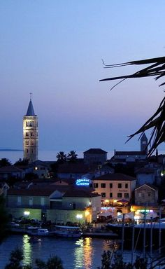 Town of Rab at night, Adriatic Sea, Croatia | by Sandro Leß