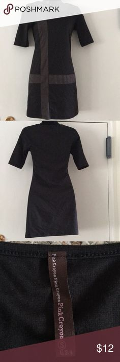 Bodycon Dress Black & gray block dress perfect for a night out in the town. T.J.Maxx Dresses