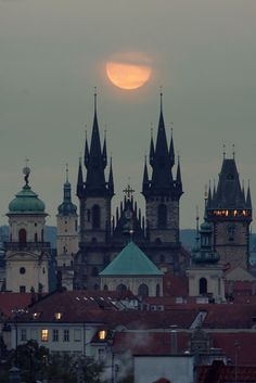 Prague, cold and spooky, just perfect!