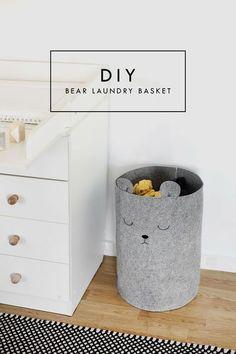 Pretty, Dirty Laundry: A Nursery DIY