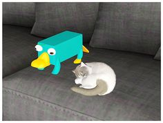 【Objects】 Perry the Platypus [Find>Kids>Toy]