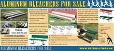 Check this link right here http://baseballtips.com/baseball-field-equipment/new-field-equipment/baseball-benches-and-bleachers/lo-rise-bleachers.html for more information on Aluminum Bleachers For Sale. If you're going for portable bleachers, it's even more imperative to choose materials that don't weigh a ton.  when it comes time to fold and move them. Henceforth buy Aluminum Bleachers For Sale. Follow Us : http://jpsbaseballtips.tumblr.com/AluminumBleachersForSale