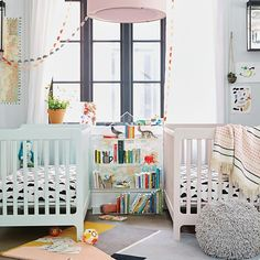Project Nursery - Carousel Crib from The Land of Nod
