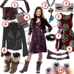 Aria from Pretty Little Liars · DIY The Look · Cut Out + Keep
