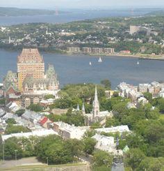 Vieux Quebec en été - summer in Old Quebec