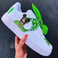 Moda Sneakers, Sneakers Mode, Custom Sneakers, Custom Shoes, Sneakers Fashion, Custom Clothes, Zapatillas Nike Jordan, Tenis Nike Air, Nike Air Shoes