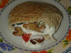Mennyei Gyros tál recept! Elkészítettem pitában is. :)