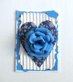 VV 7.A: srdce pro maminku s použitím Capsule Parisian Blue