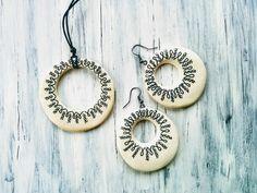HandPainted Clay Jewelleries Clay Jewelry, Washer Necklace, Handmade Jewelry, Hand Painted, Handmade Jewellery, Jewellery Making, Diy Jewelry, Craft Jewelry, Handcrafted Jewelry