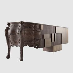 Good Vibrations: An Intricately Carved Cabinet Looks Like a ...