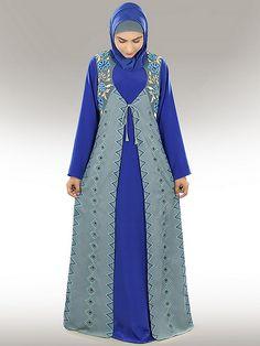 Beautiful Abaya-Jilbab Design, Turkish Abaya-Jilbab, Buy Online Abaya - MyBatua.com Hijab Dress, Hijab Outfit, Beautiful Outfits, Cool Outfits, Casual Outfits, Hijab Fashion Inspiration, Style Inspiration, Diy Fashion, Fashion Dresses