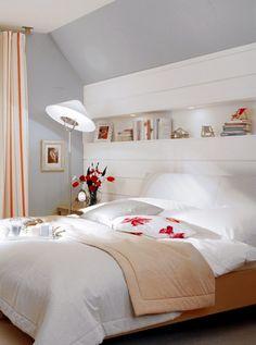 Fantastisch Die 15 Besten Wohntipps Für Räume Mit Dachschrägen   SCHÖNER WOHNEN  Wandgestaltung Schlafzimmer Dachschräge, Wandgestaltung