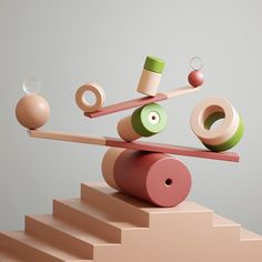 Friedrich Neumann on Behance Creative Logo, 3d Shapes, Geometric Shapes, 3d Cinema, Composition Art, 3d Artwork, Still Life Photography, Art Plastique, Motion Design