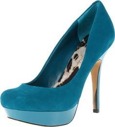 Jessica Simpson Women's Given Platform Pump [Price: $] - Reach new heights of fashion in the sexy Jessica Simpson Given pump. This eye-catching women's stiletto has a supple leather or rich suede upper. A lightly cushioned footbed and faux leather lining lend enhanced interior ease, while the Jessica Simpson Given platform dress shoe grips the ground ...