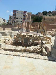 Roman theatre Cartagena  Spain