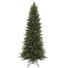7.5' Vickerman C103477 Blue Spruce Instant Shape - Blue, Green Christmas Tree