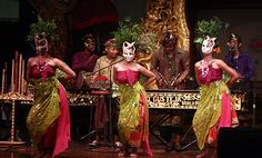 a Balinese musician Gus Teja world music    on hes bali party track song with Dewi Aryani