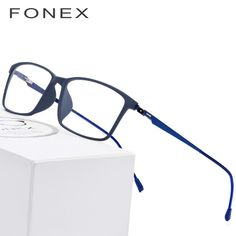 ed75d9070 TR90 Titanium Alloy Glasses Frame Men Myopia Eye Glass Prescription  Eyeglasses 2018 Korean Screwless Optical Frames Eyewear 9855