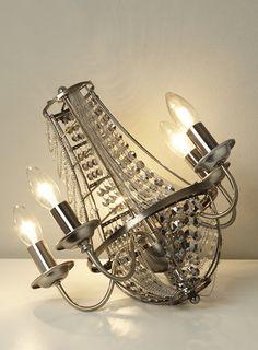 bhs illuminate atelier skyler table lamp de constructed smoke nickel