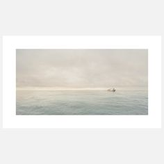"""Fishermen on Sitka Bay Print"" by Chris Crisman"