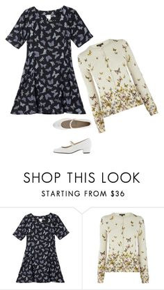 """""""Untitled #317"""" by patpotato ❤ liked on Polyvore featuring Monki, Warehouse and American Apparel"""
