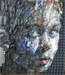 recycled art - This is really cool!!!