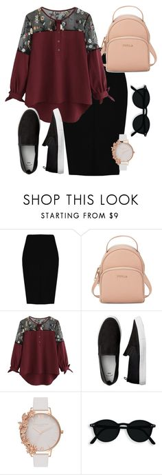 """Apostolic Fashion"" by runningninjagirl on Polyvore featuring Boohoo, Furla and Olivia Burton"