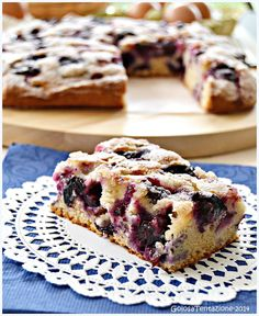 Bakery Recipes, Dessert Recipes, Torte Cake, Italy Food, English Food, Dessert Bars, Cake Cookies, Yummy Cakes, Cooking Time