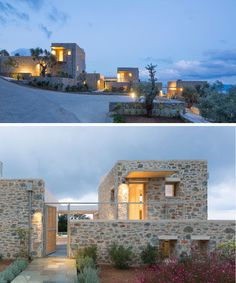 A Trio Of Secluded New Villas Enjoy Life On The Edge Of This Greek Island